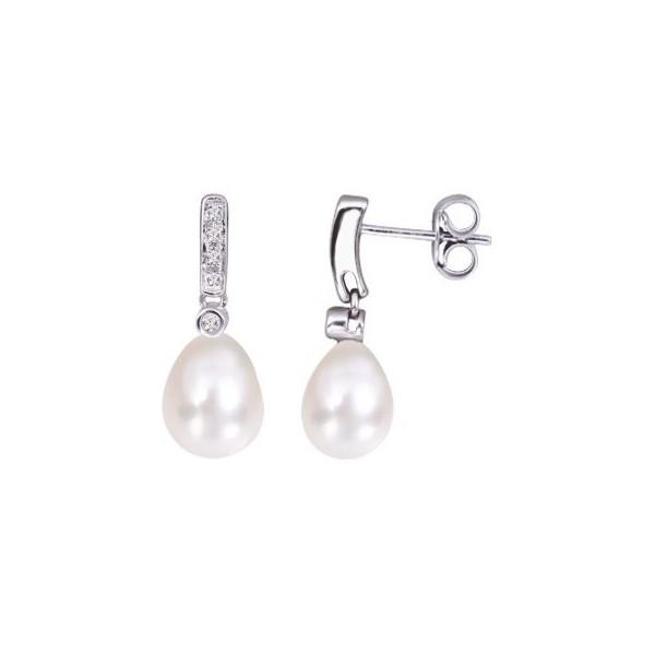 original à chaud texture nette publier des informations sur Boucles d'Oreilles Or 750/1000 & Diamants/Perle